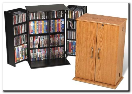 Cddvd Storage Cabinet With Doors