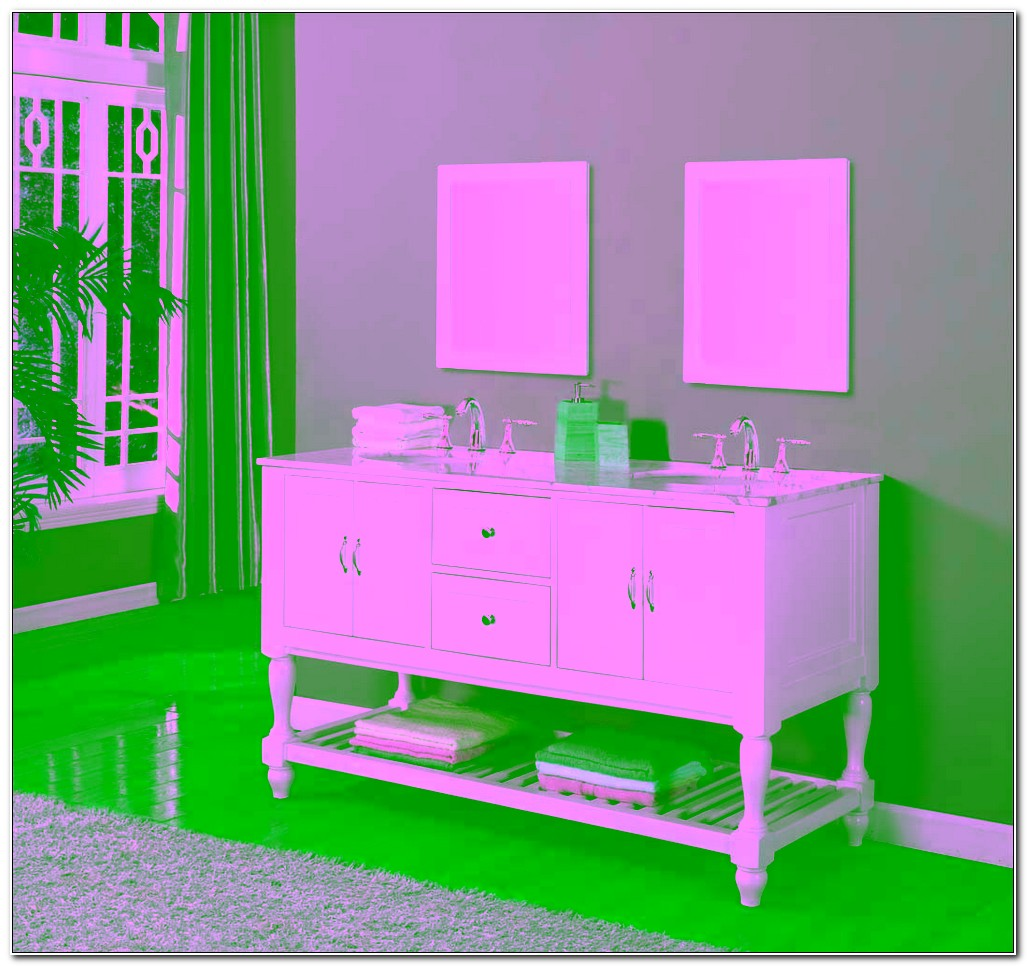 Cheap Double Sink Vanity Cabinet