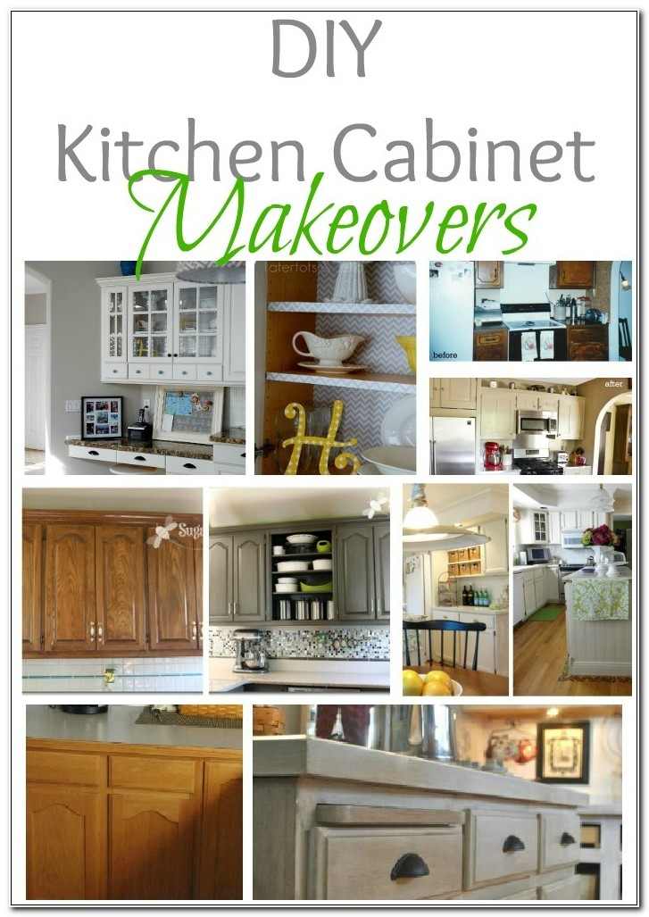 Cheap Easy Kitchen Cabinet Makeovers