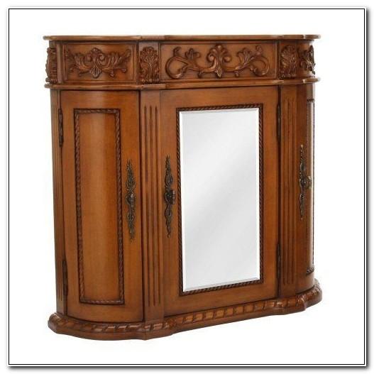 Chelsea 3 Door Mirrored Wall Cabinet