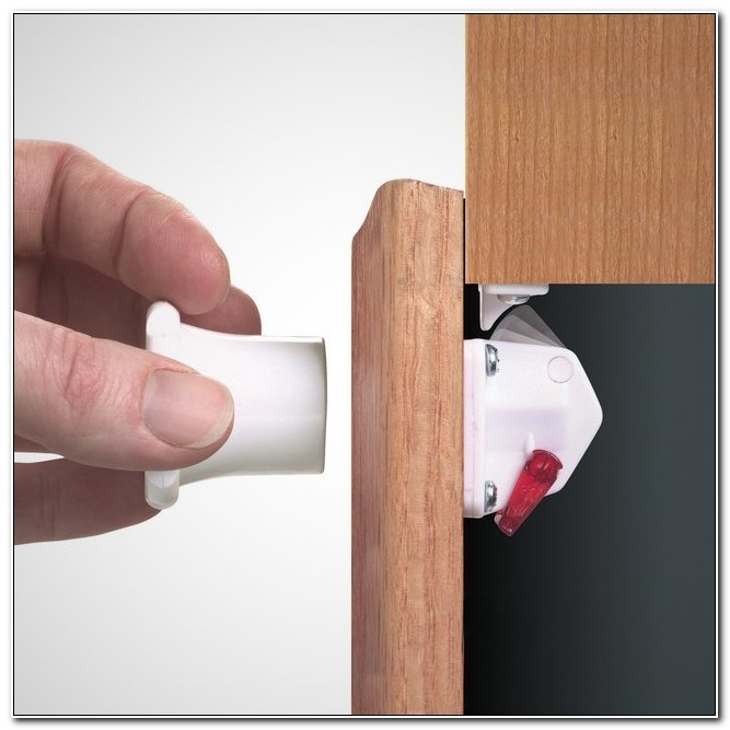 Child Proof Magnetic Cabinet Latches