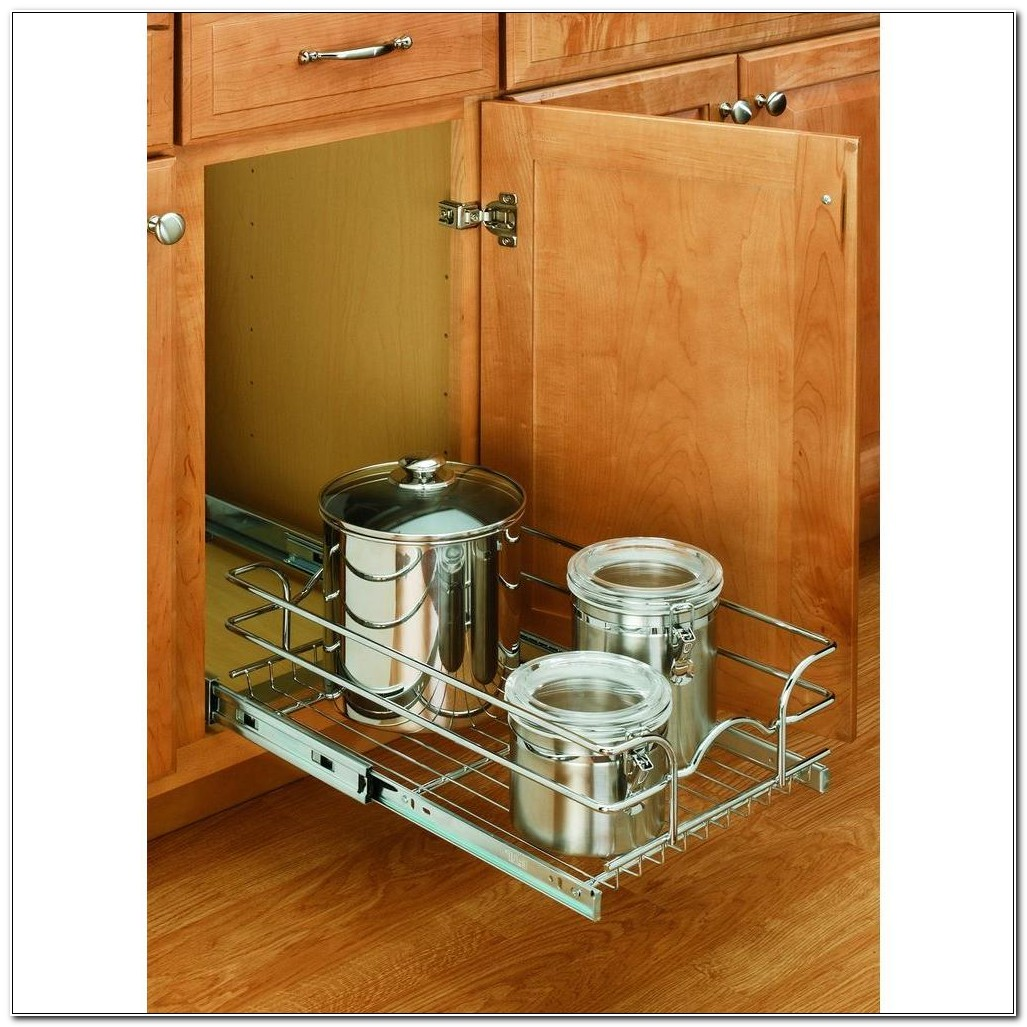 Chrome Pull Out Cabinet Basket