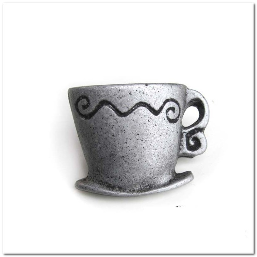 Coffee Cup Cabinet Knobs