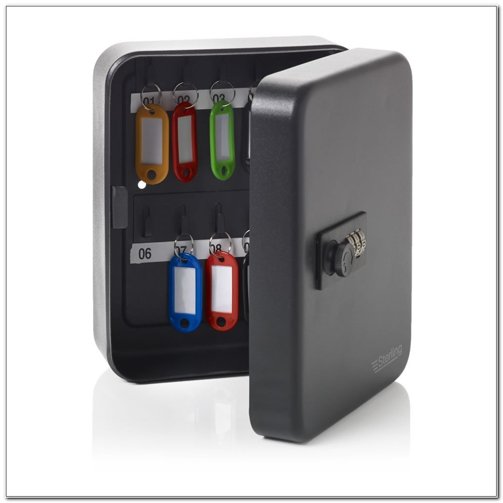 Combination Lock Key Cabinet