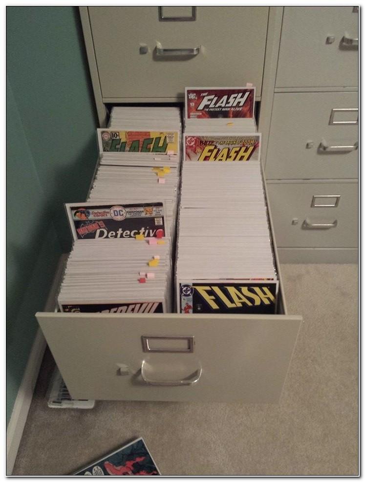Comic Book Storage Filing Cabinets