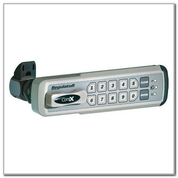 Compx Regulator Electronic Push Button Cabinet Lock
