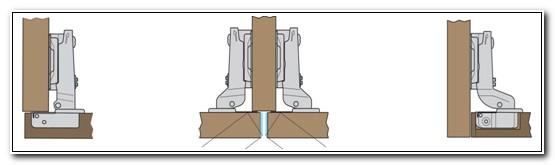 Concealed Hinges Cabinet Doors