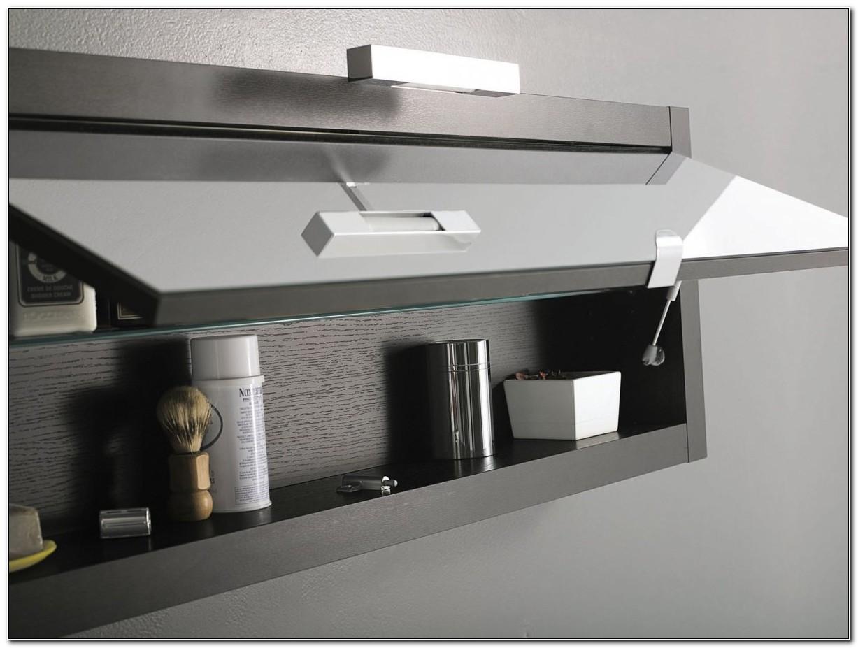 Contemporary Bathroom Wall Storage Cabinets