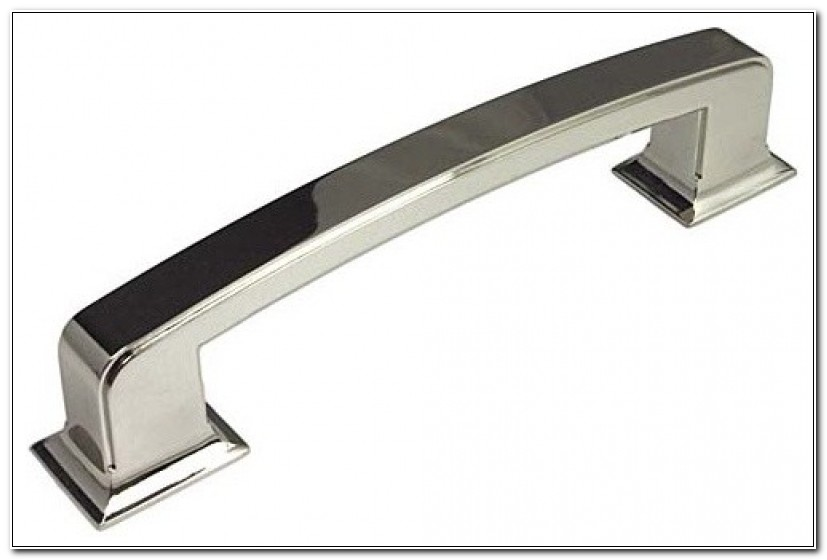 Contemporary Polished Nickel Cabinet Pulls