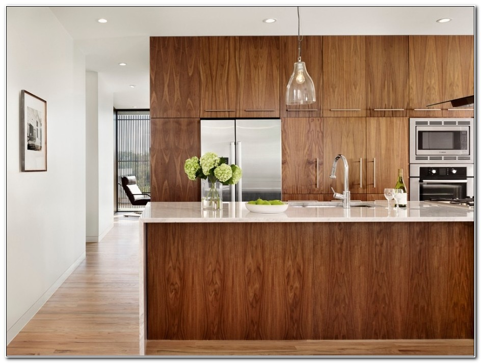 Contemporary Wood Kitchen Cabinet Doors