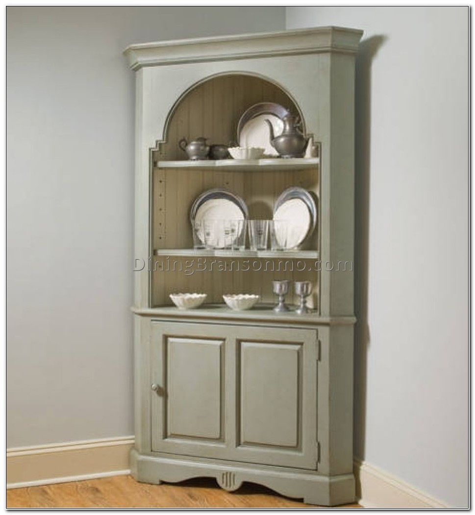 Corner Buffet Cabinet Dining Room
