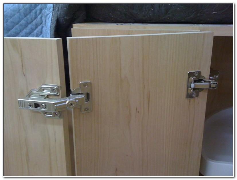 Corner Cabinet Door Hinge Installation