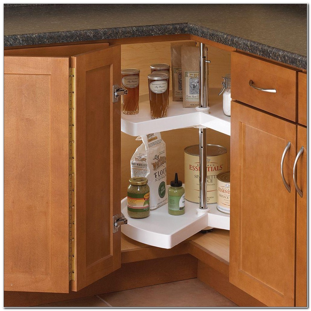Corner Cabinet Lazy Susan Shelves