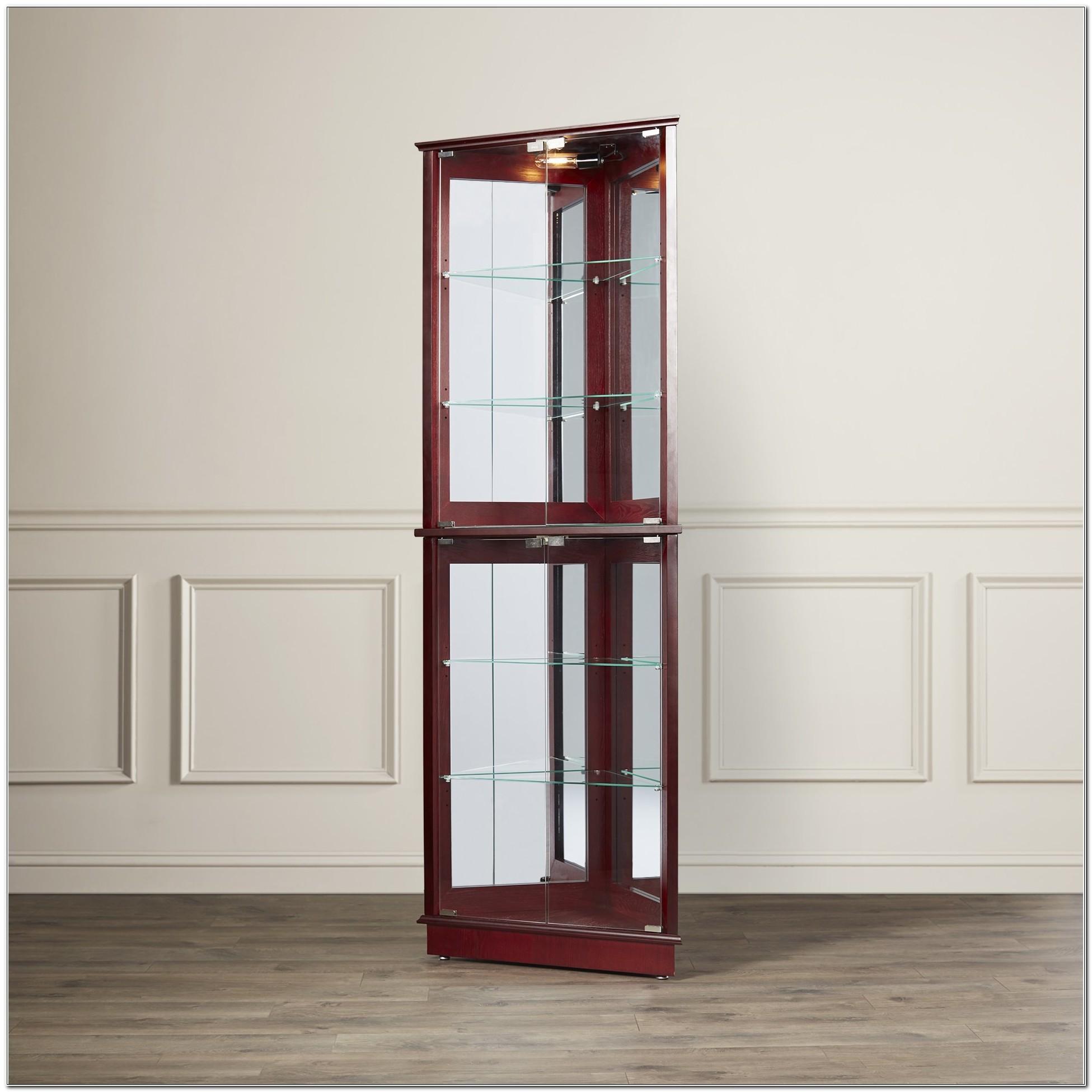 Corner Curio Cabinets Cheap