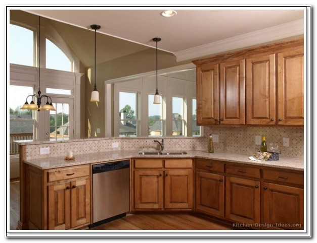 Corner Kitchen Sink Cabinet Designs