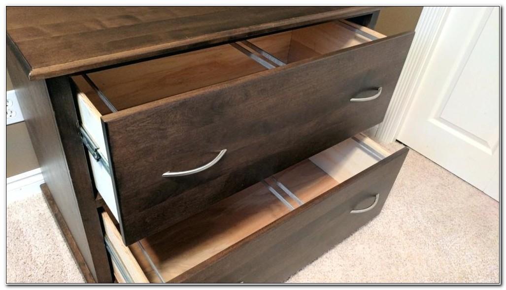 Corona Wood Credenza File Cabinet