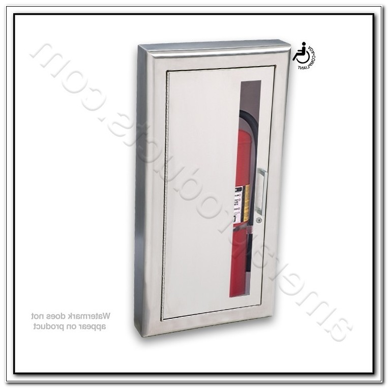 Cosmopolitan Stainless Steel Fire Extinguisher Cabinets