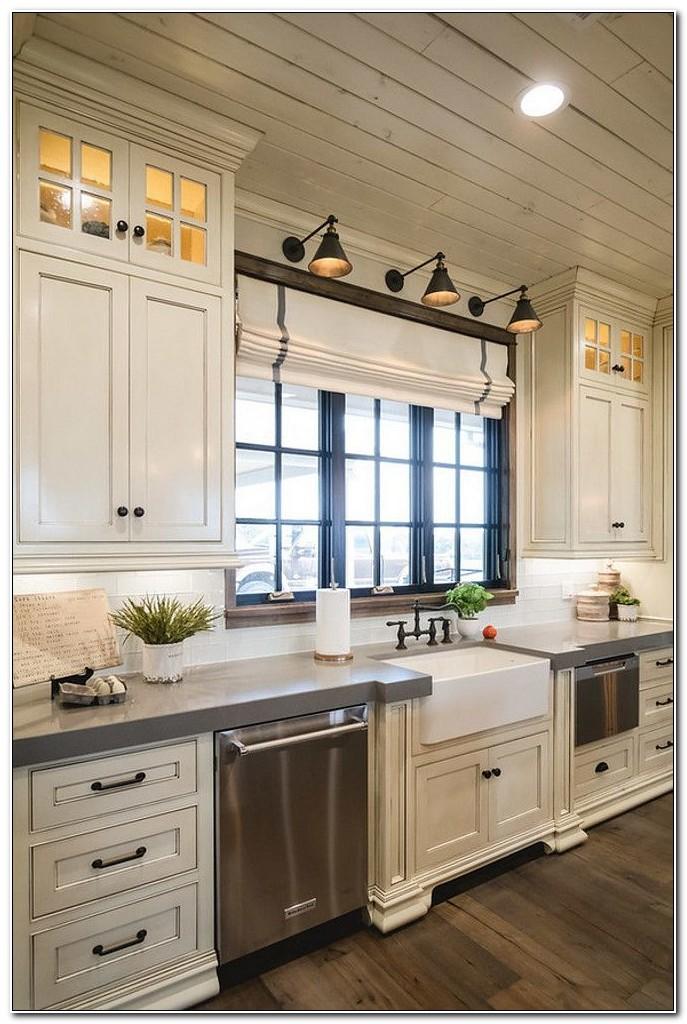 Cottage Kitchen Cabinets Refinishing Ideas