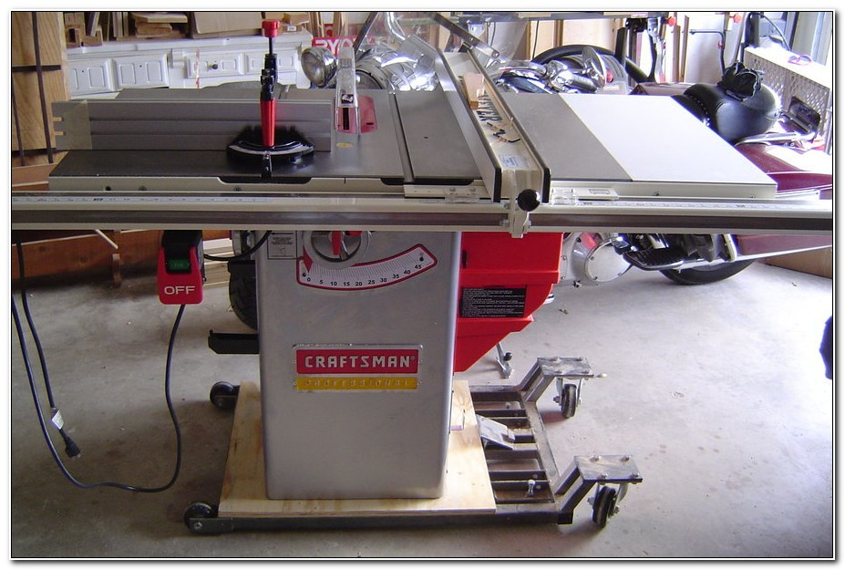Craftsman 10 Cabinet Makers Table Saw