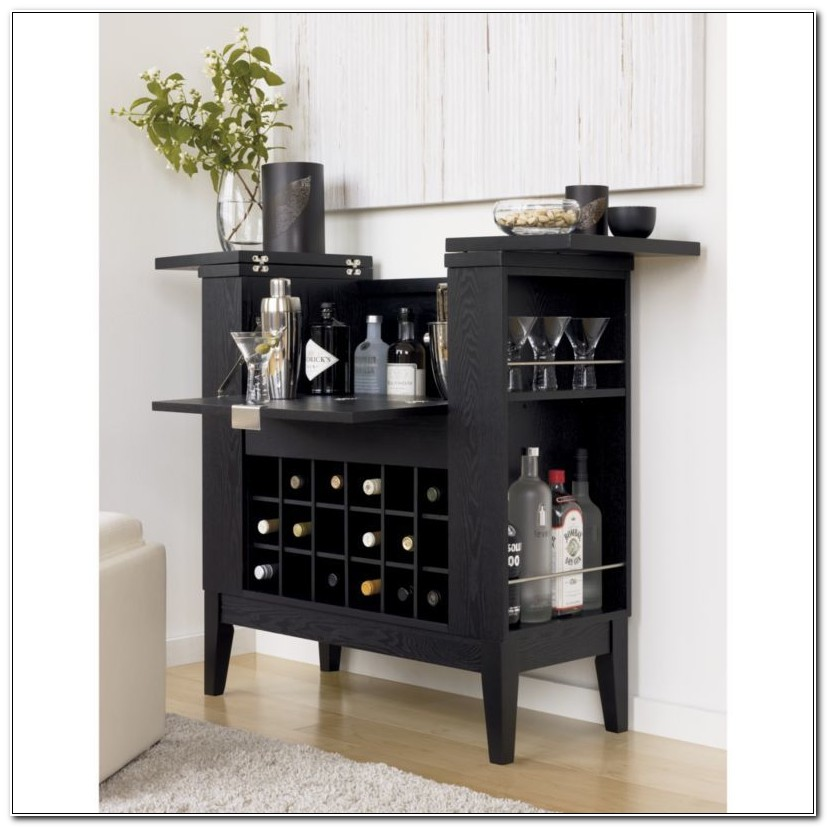 Crate And Barrel Wine And Spirits Cabinet