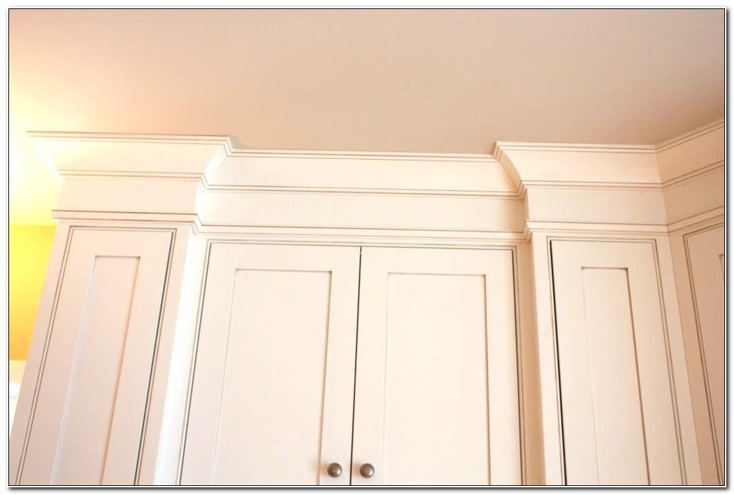 Crown Molding For Kitchen Cabinet Tops