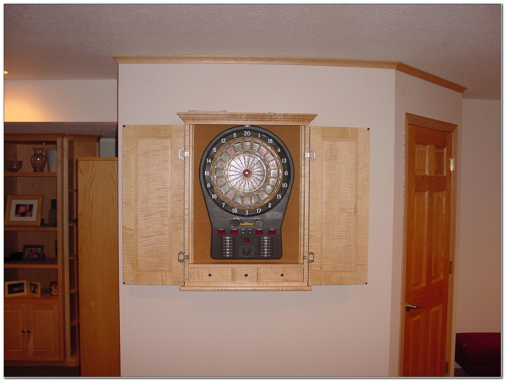 Custom Dart Board Cabinet Uk