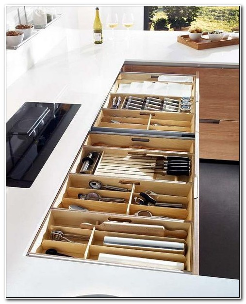 Custom Drawers For Kitchen Cabinets