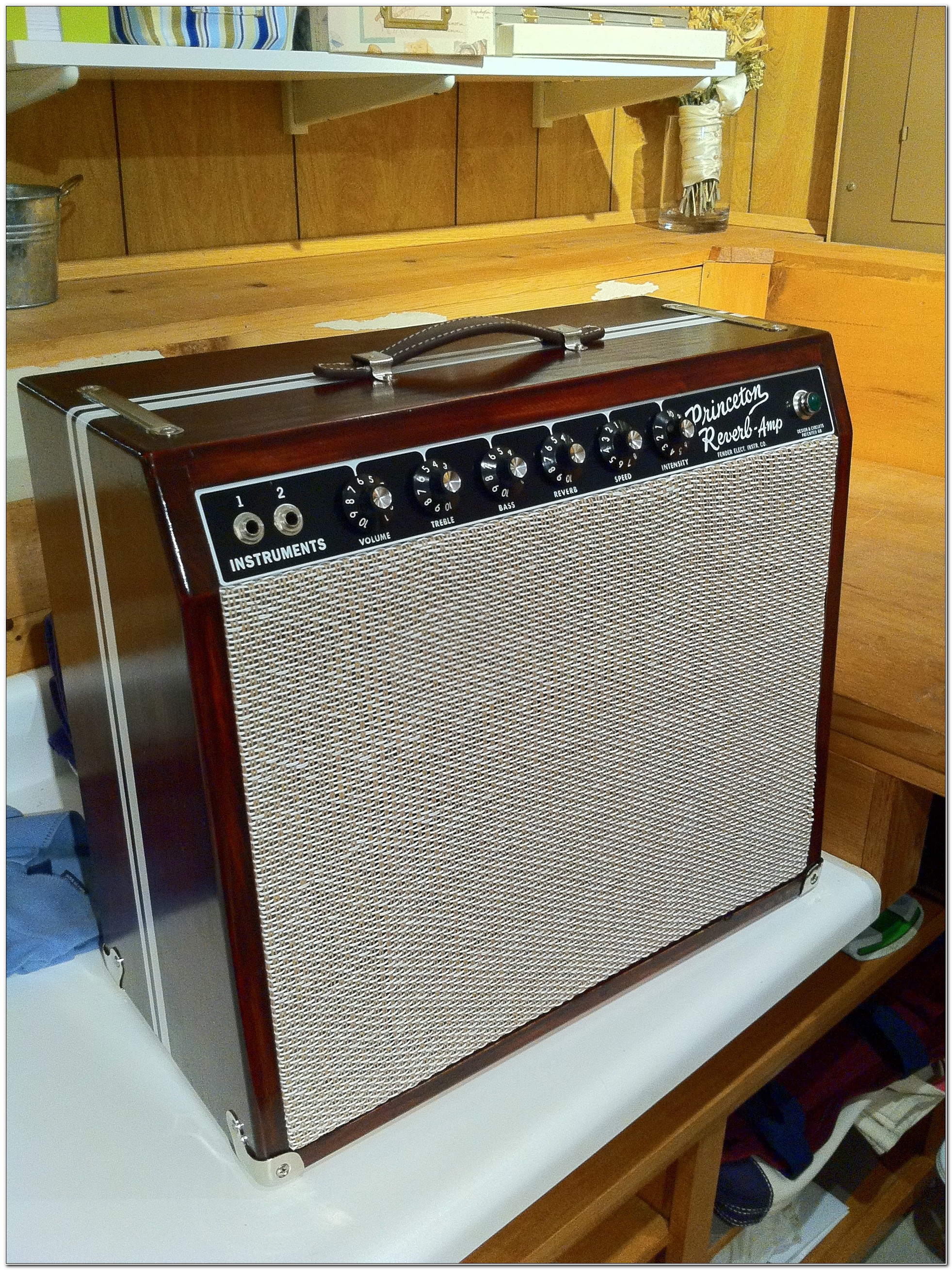 Custom Fender Guitar Cabinet