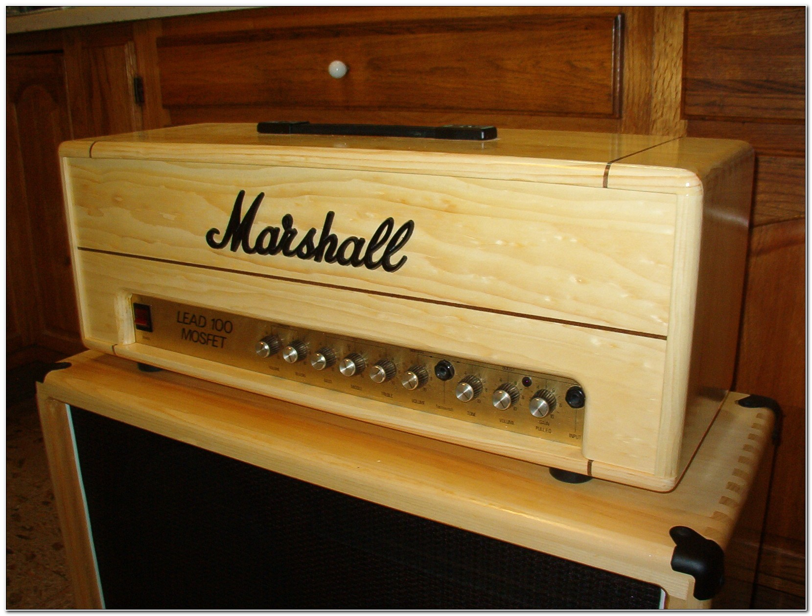 Custom Guitar Amp Head Cabinets