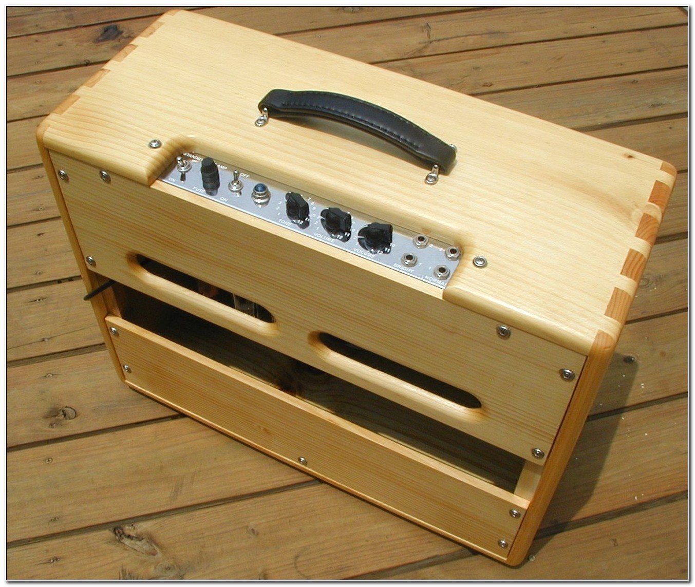 Custom Wood Guitar Amp Cabinets