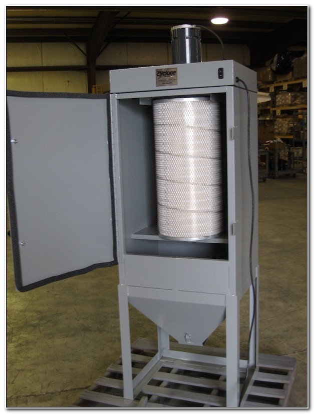 Cyclone Blast Cabinet Dust Collector