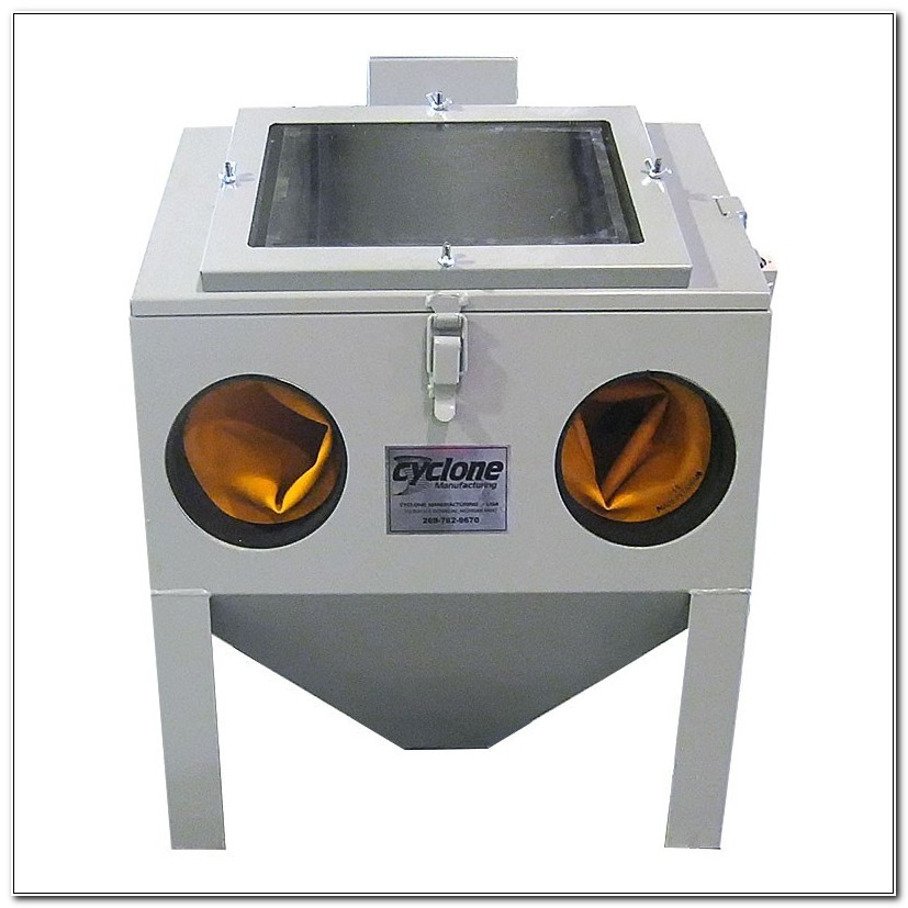 Cyclone Large Benchtop Blast Cabinet