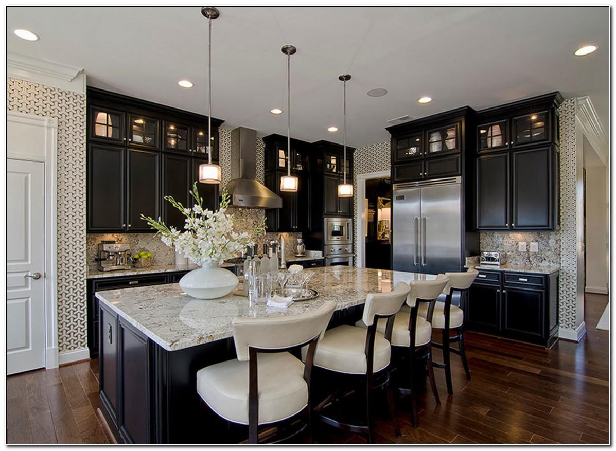 Dark Kitchen Cabinets Pictures