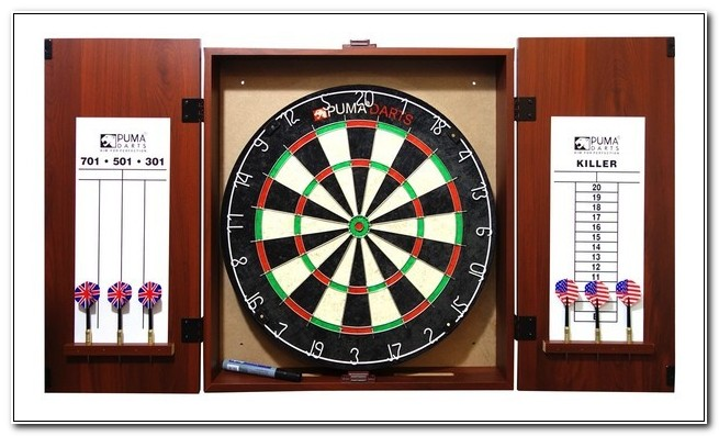 Dart Board And Cabinet Nz