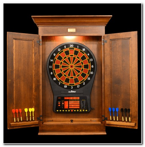 Dart Boards With Cabinets