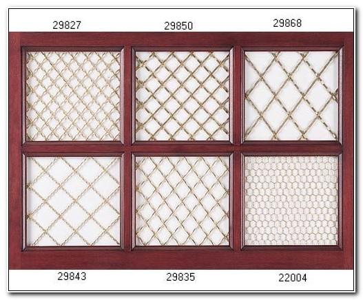 Decorative Chicken Wire Mesh For Cabinets