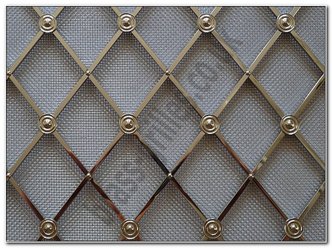 Decorative Wire Mesh For Cabinet Doors