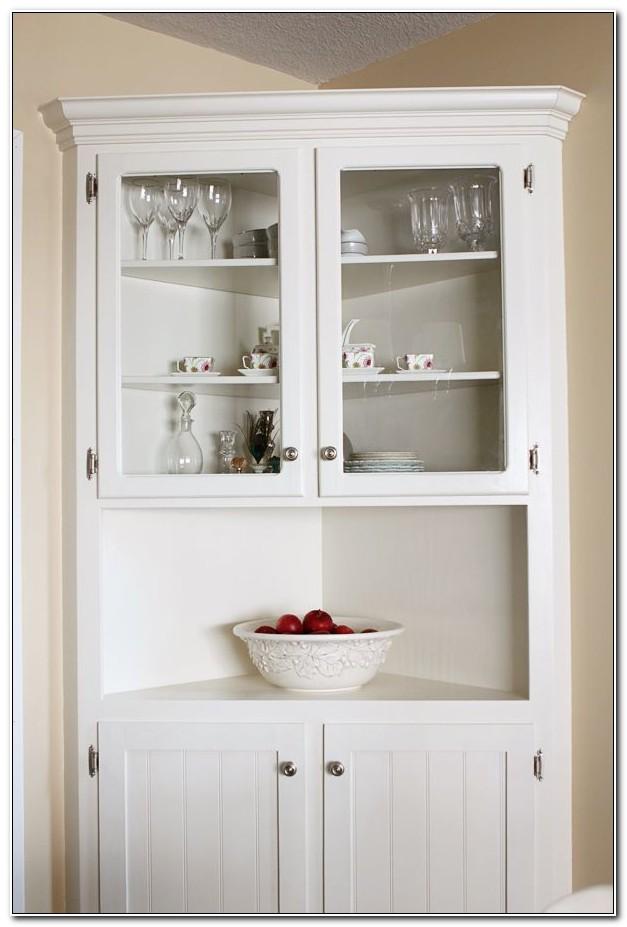Dining Room Corner Hutch Cabinet