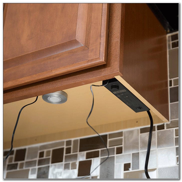 Direct Wire Under Cabinet Lighting Installation