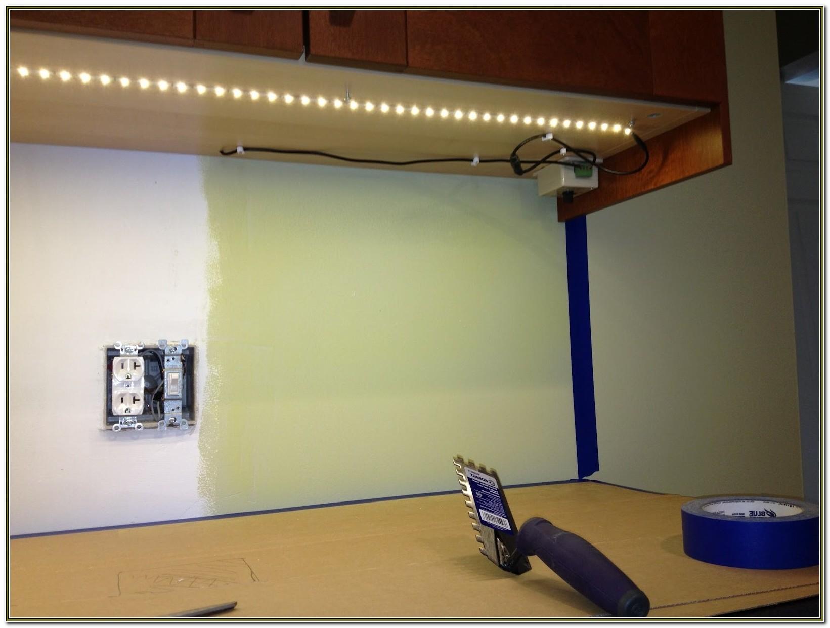 Diy Hardwired Under Cabinet Lighting
