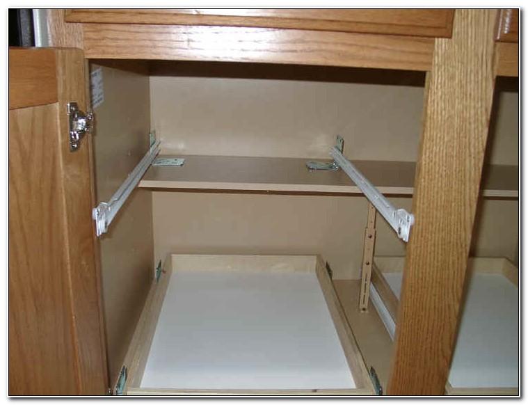 Diy Kitchen Cabinet Sliding Drawers