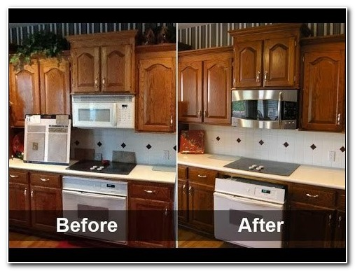 Diy Kitchen Cabinets Refinishing