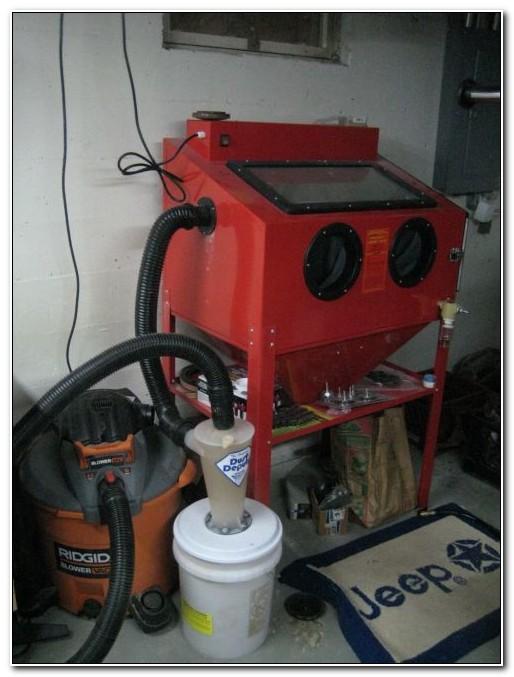 Diy Sandblast Cabinet Dust Collector