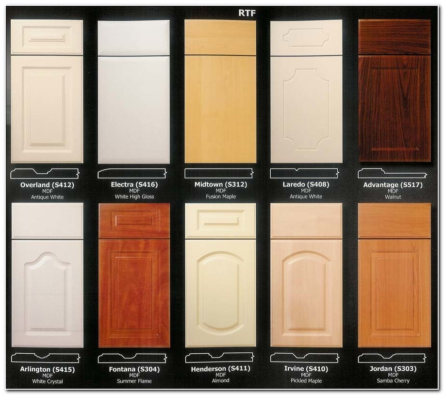 Door Fronts For Kitchen Cabinets
