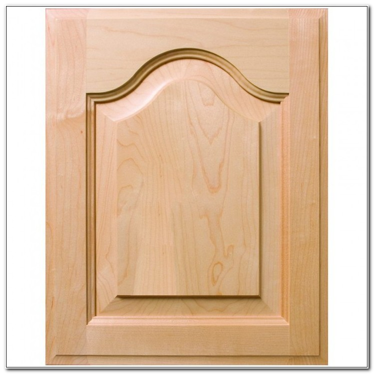 Double Cathedral Raised Panel Cabinet Doors