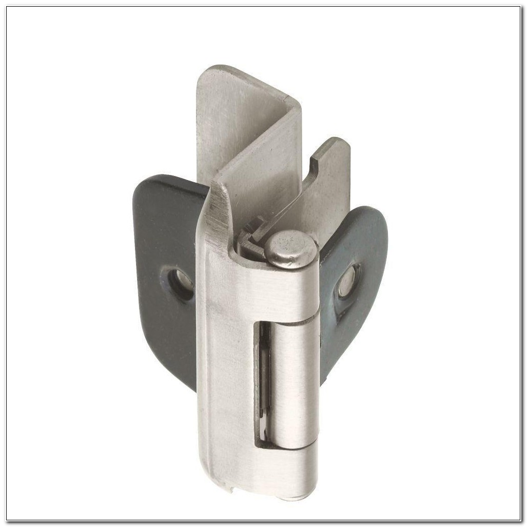 Double Demountable Cabinet Hinges Satin Nickel