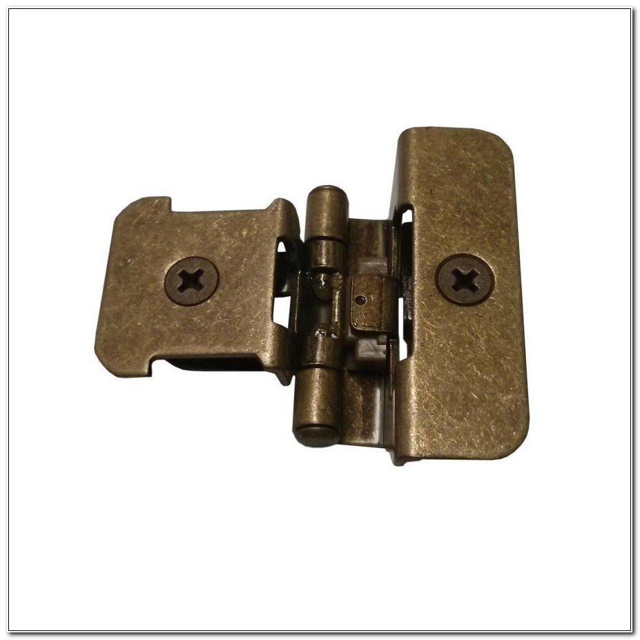 Double Demountable Cabinet Hinges