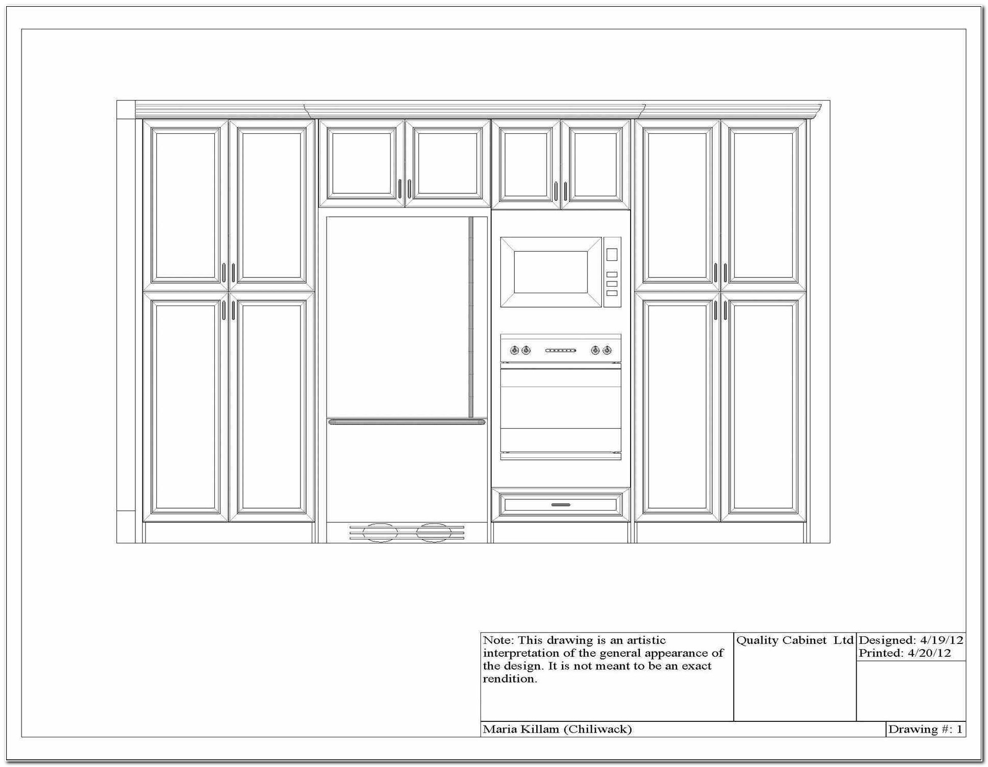 Double Oven Wall Cabinet Dimensions