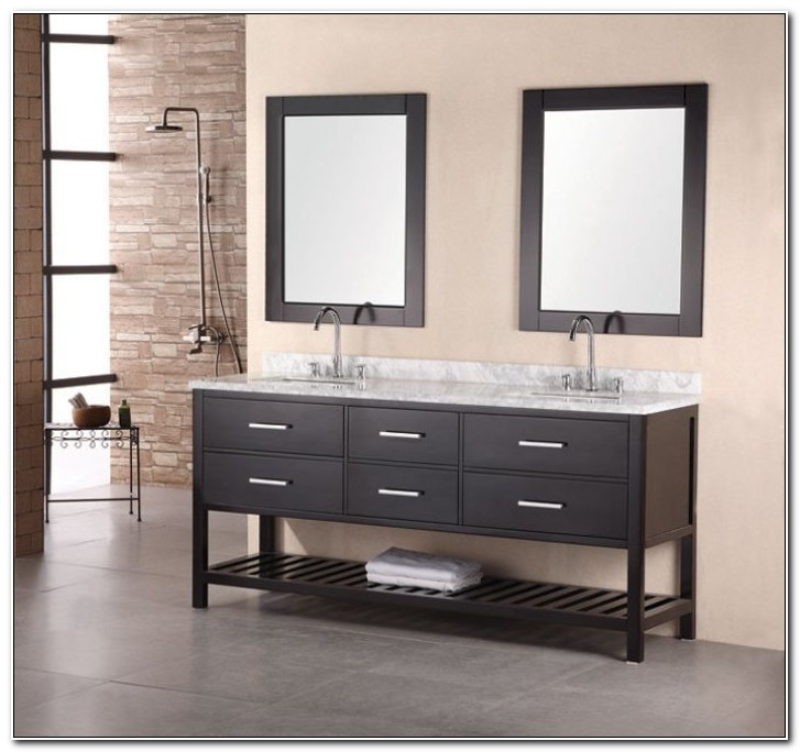 Double Sink Bathroom Vanity Cabinets Uk