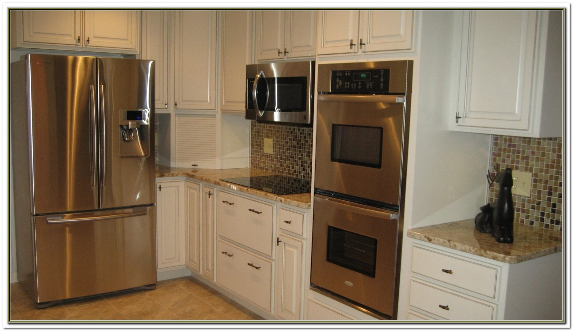 Double Wall Oven Cabinet Ideas